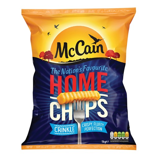 Picture of Mccain Home Chips Crinkle Cut 1KG