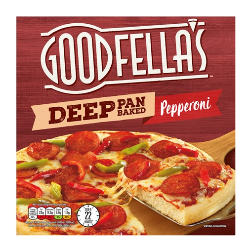Picture of Goodfellas Deep Pan Pepperoni Pizza