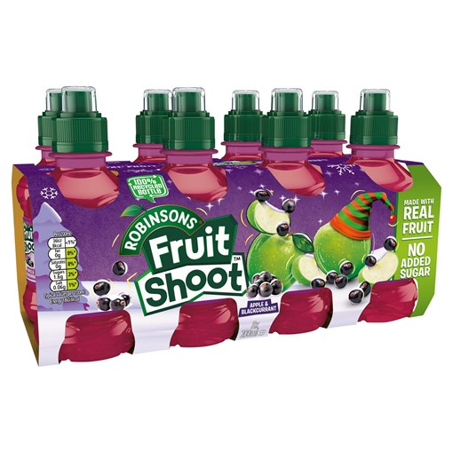 Picture of Robinsons Fruit Shoot Apple & Blackcurrant Juice Drink 8 x 200ml