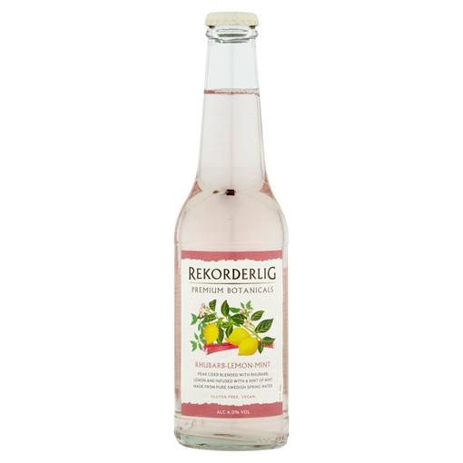 Picture of Rekorderlig Botanicals Premium Rhubarb-Lemon-Mint Cider 330ml