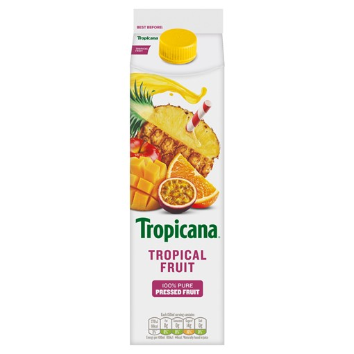 Picture of Tropicana Tropical Fruit Juice 850ml