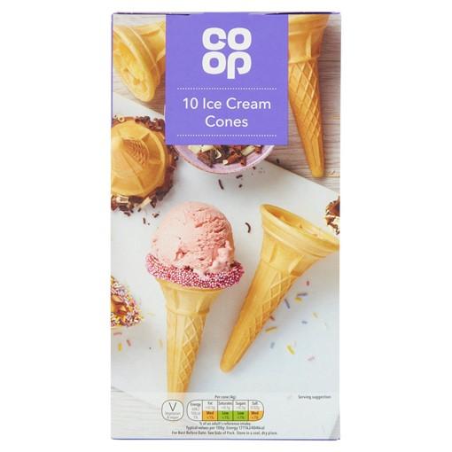 Picture of Co-op 10 Ice Cream Cones