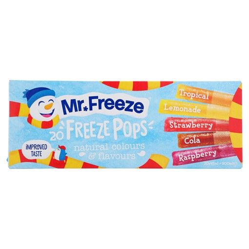 Picture of Mr. Freeze Pops 20 x 45ml (900ml)