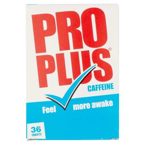 Picture of Pro Plus Caffeine 36 Tablets