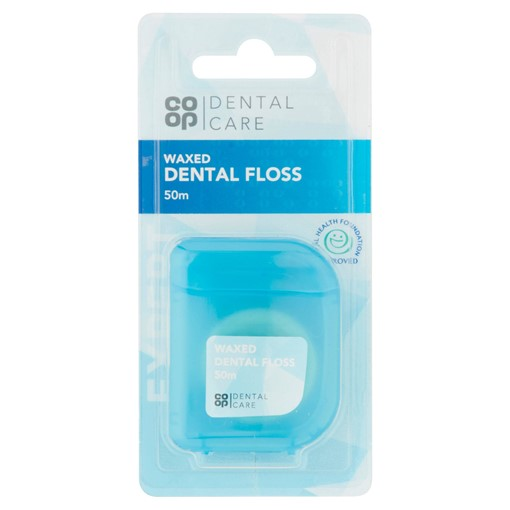 Picture of Co-op Dental Care Waxed Dental Floss 50m