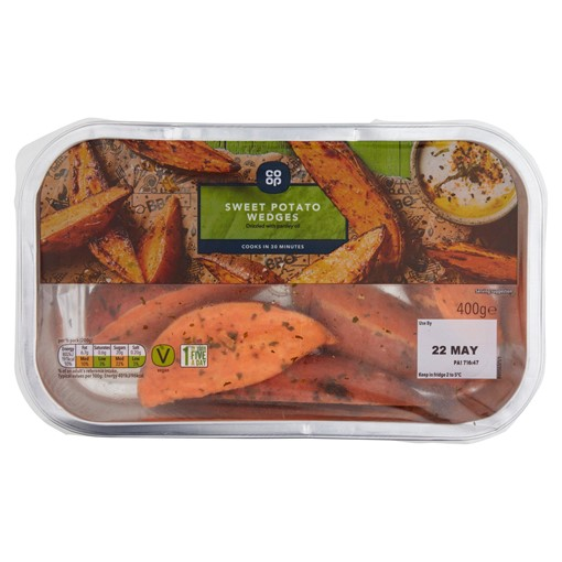 Picture of Co-op Sweet Potato Wedges 400g