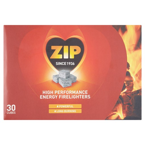 Picture of Zip High Performance Energy Firelighters 40 Cubes