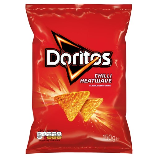 Picture of Doritos Chilli Heatwave Sharing Tortilla Chips 150g