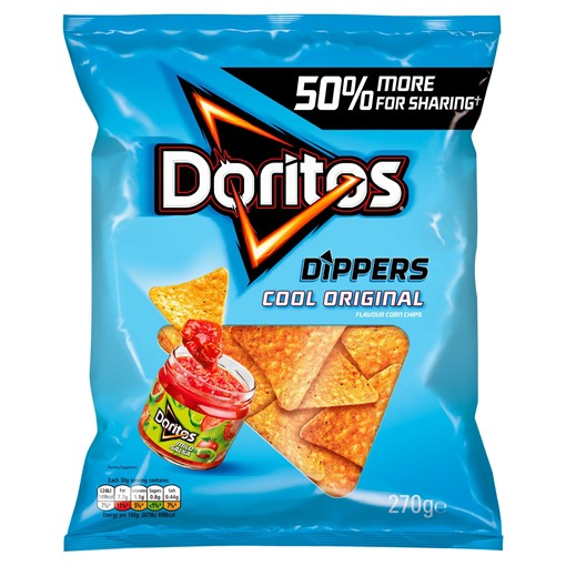 Picture of Doritos Dippers Cool Original Sharing Tortilla Chips 270g