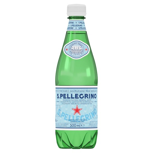 Picture of San Pellegrino Sparkling Natural Mineral Water 500ml