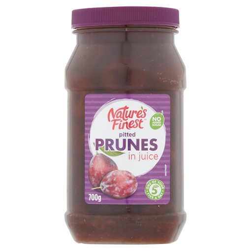 Picture of Nature's Finest Pitted Prunes in Juice 700g