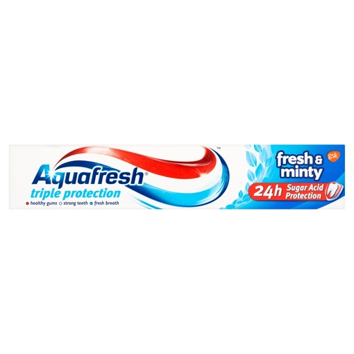Picture of Aquafresh Toothpaste Triple Protection Fresh & Minty 75ml