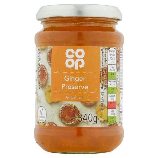 Picture of Co-op Ginger Preserve 340g