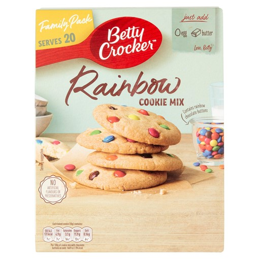 Picture of Betty Crocker Rainbow Cookie Mix 495g