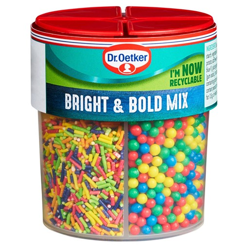 Picture of Dr. Oetker Bright & Bold Sprinkles Mix 89g