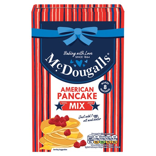 Picture of McDougalls American Pancake Mix 192g