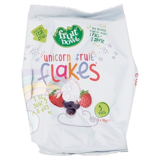 Picture of Fruit Bowl Unicorn Fruit Flakes 5 x 18g