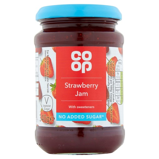 Picture of Co-op Strawberry Jam 340g