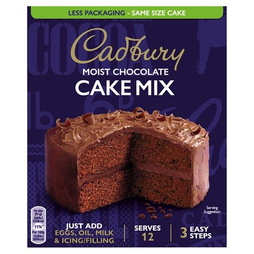Picture of Cadbury Chocolate Cake Mix 400g