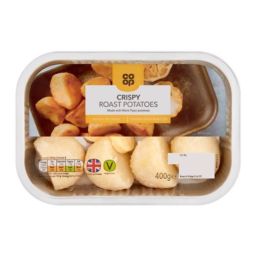 Picture of Co-op Crispy Roast Potatoes 400g