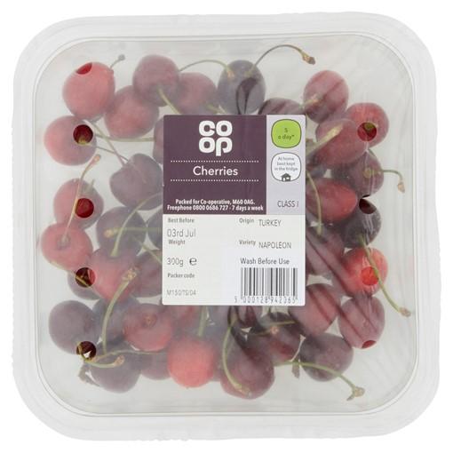 Picture of Co-op Cherries 300g
