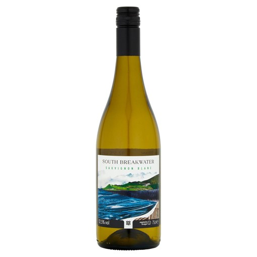 Picture of Co-op South Breakwater Sauvignon Blanc 75cl