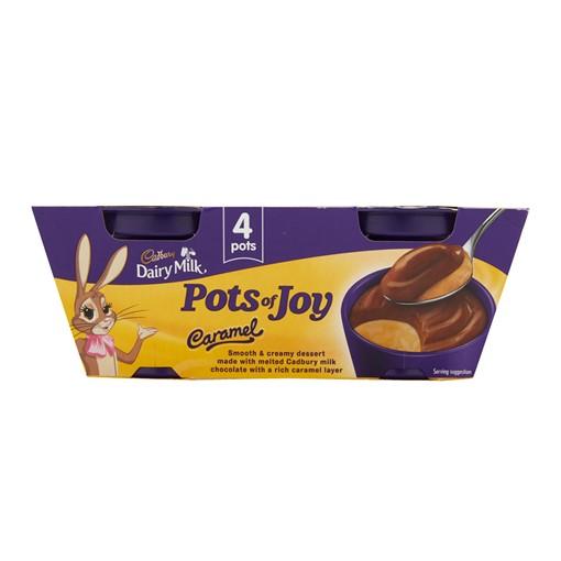 Picture of Cadbury Pots of Joy Caramel 4X65G