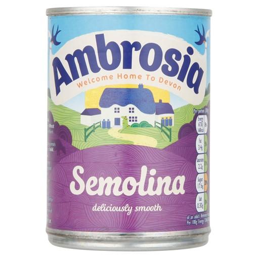 Picture of Ambrosia Semolina Dessert Can 400g