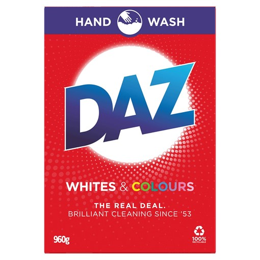 Picture of Daz Washing Powder Whites & Colours 960g 9 Washes