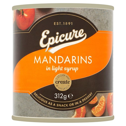 Picture of Epicure Mandarins in Light Syrup 312g