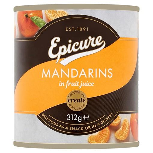 Picture of Epicure Mandarins in Fruit Juice 312g