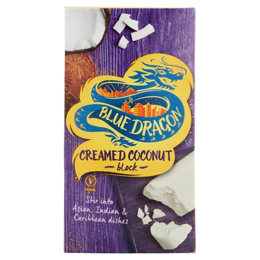 Picture of Blue Dragon Creamed Coconut Block 200g