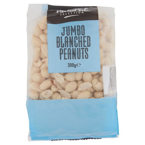 Picture of Natural Selection Jumbo Blanched Peanuts 300g