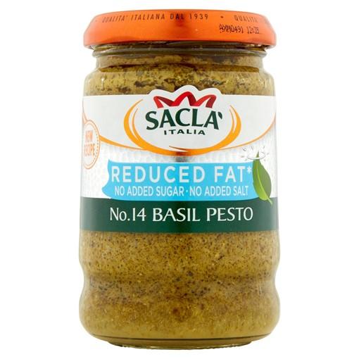 Picture of Sacla' No. 14 Basil Pesto 190g