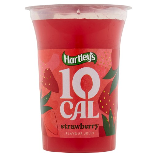 Picture of Hartley's 10 Cal Strawberry Flavour Jelly 175g