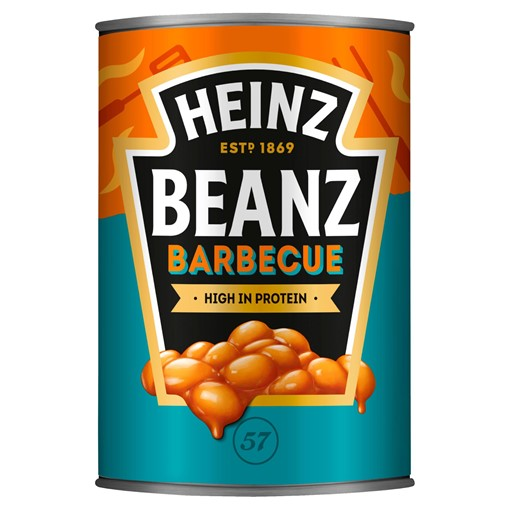 Picture of Heinz Baked Beanz Barbecue 390g