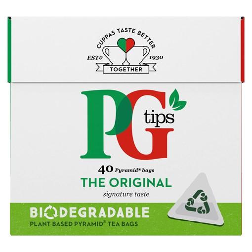 Picture of PG tips Original Tea 40s