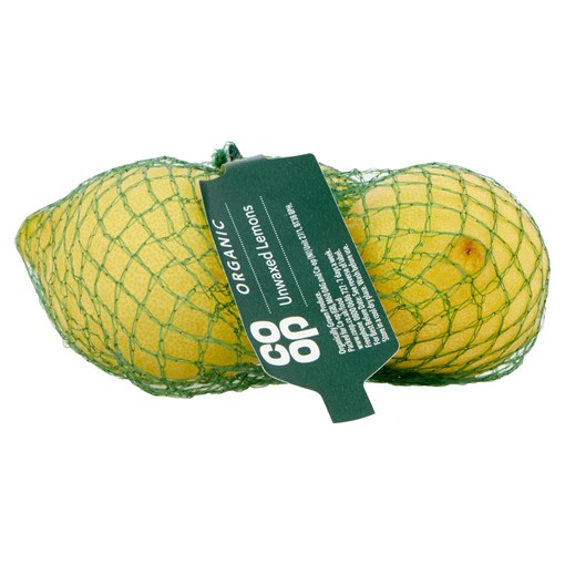 Picture of Co-op Organic Unwaxed Lemons