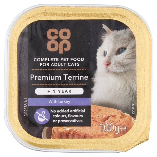 Picture of Co-op Premium Terrine with Turkey +1 Year 100g