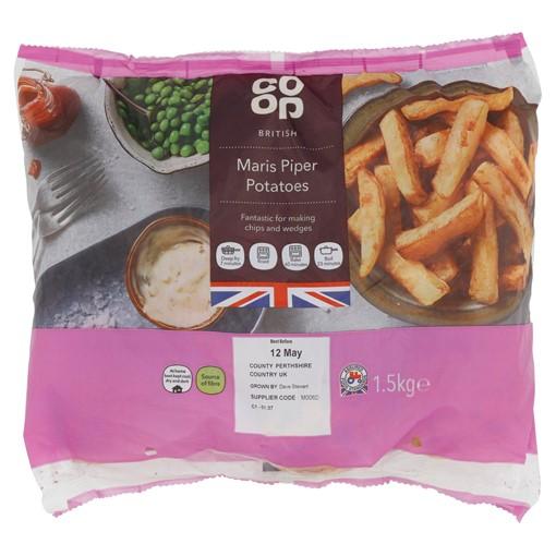 Picture of Co-op British Maris Piper Potatoes 1.5kg