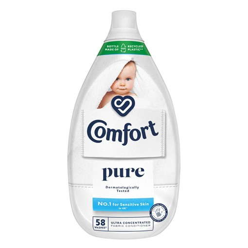 Picture of Comfort Pure Ultra-Concentrated Fabric Conditioner 58 Wash 870 ml