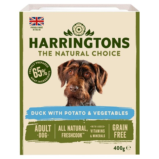 Picture of Harringtons Duck & Veg Adult Wet Dog Food 400g