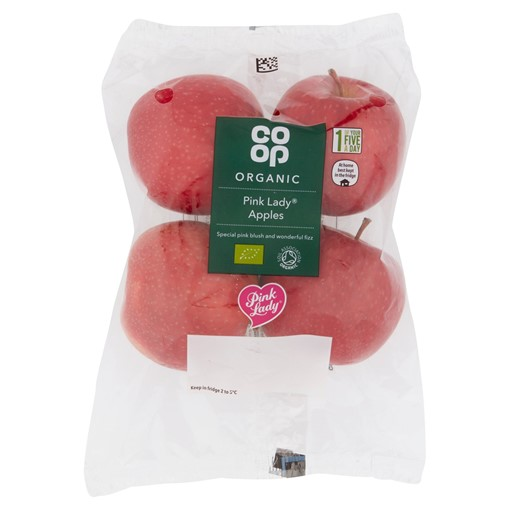 Picture of Co-op Organic 4 Pink Lady Apples