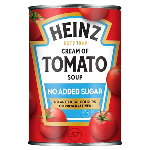 Picture of Heinz No Added Sugar Cream of Tomato Soup 400g