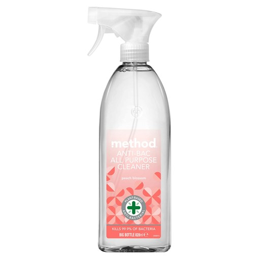 Picture of Method Anti-Bac All Purpose Cleaner Peach Blossom 828ml