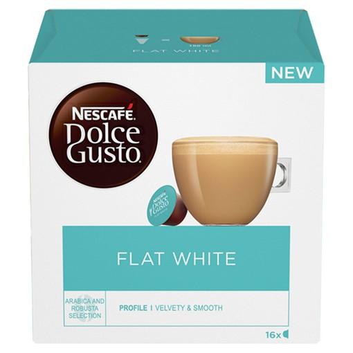 Picture of NESCAFÉ Dolce Gusto Flat White Coffee Pods 16 Capsules per Box