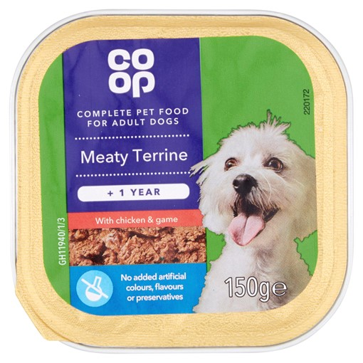 Picture of Co-op Meaty Terrine with Chicken & Game +1 Year 150g