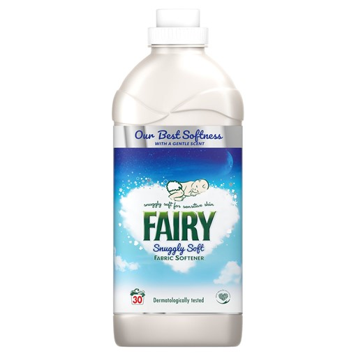 Picture of Fairy Fabric Conditioner Snuggly Soft 1.05L, 30 Washes