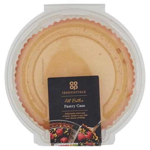 Picture of Co-op Irresistible All Butter Pastry Case 215g