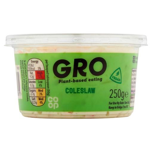 Picture of Co-op GRO Coleslaw 250g